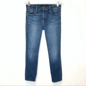 Joe's Jeans Ankle Cropped Medium Wash Size 27